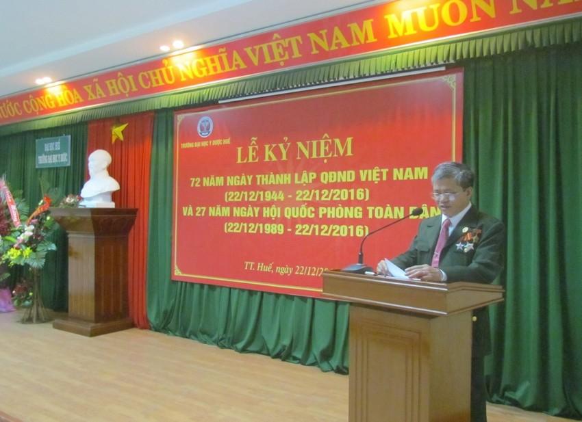 Lễ Kỷ niệm 72 năm ngày thành lập Quân đội nhân dân Việt Nam và 27 năm ngày hội Quốc phòng toàn dân
