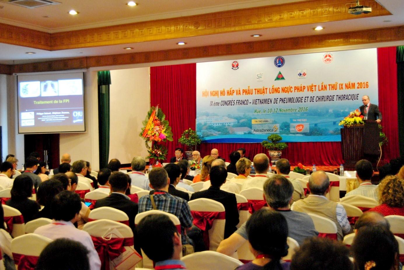 Hội nghị Hô hấp và Phẫu thuật Lồng ngực Pháp-Việt lần thứ IX