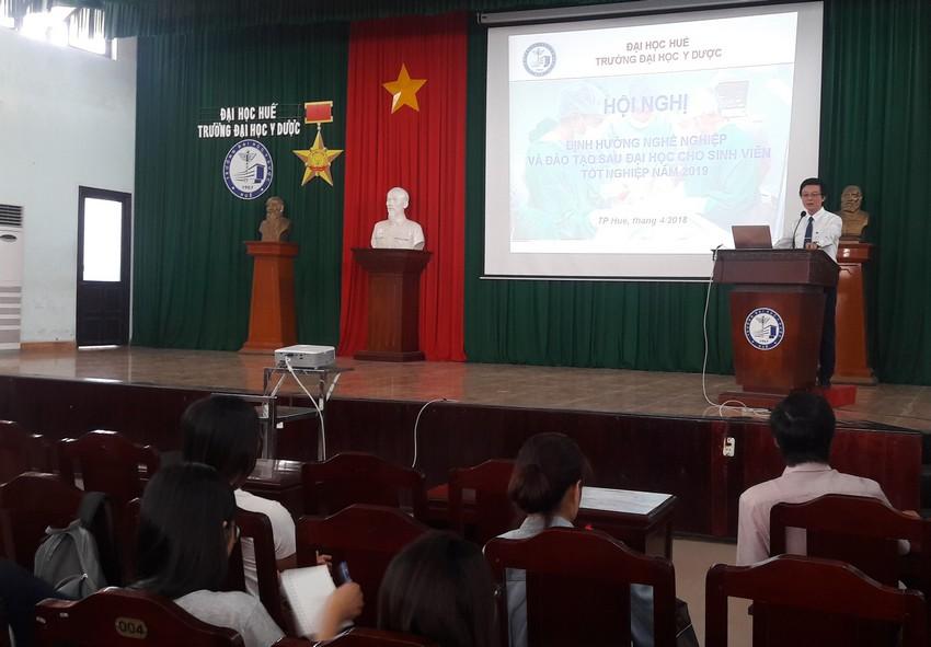 Hội nghị Định hướng nghề nghiệp và đào tạo sau đại học cho sinh viên tốt nghiệp năm 2019