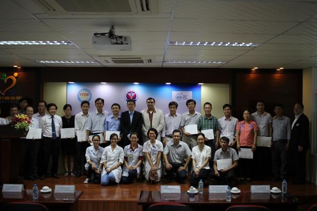 Hội thảo siêu âm nội soi ở Bệnh Viện Đại Học Y Dược Huế