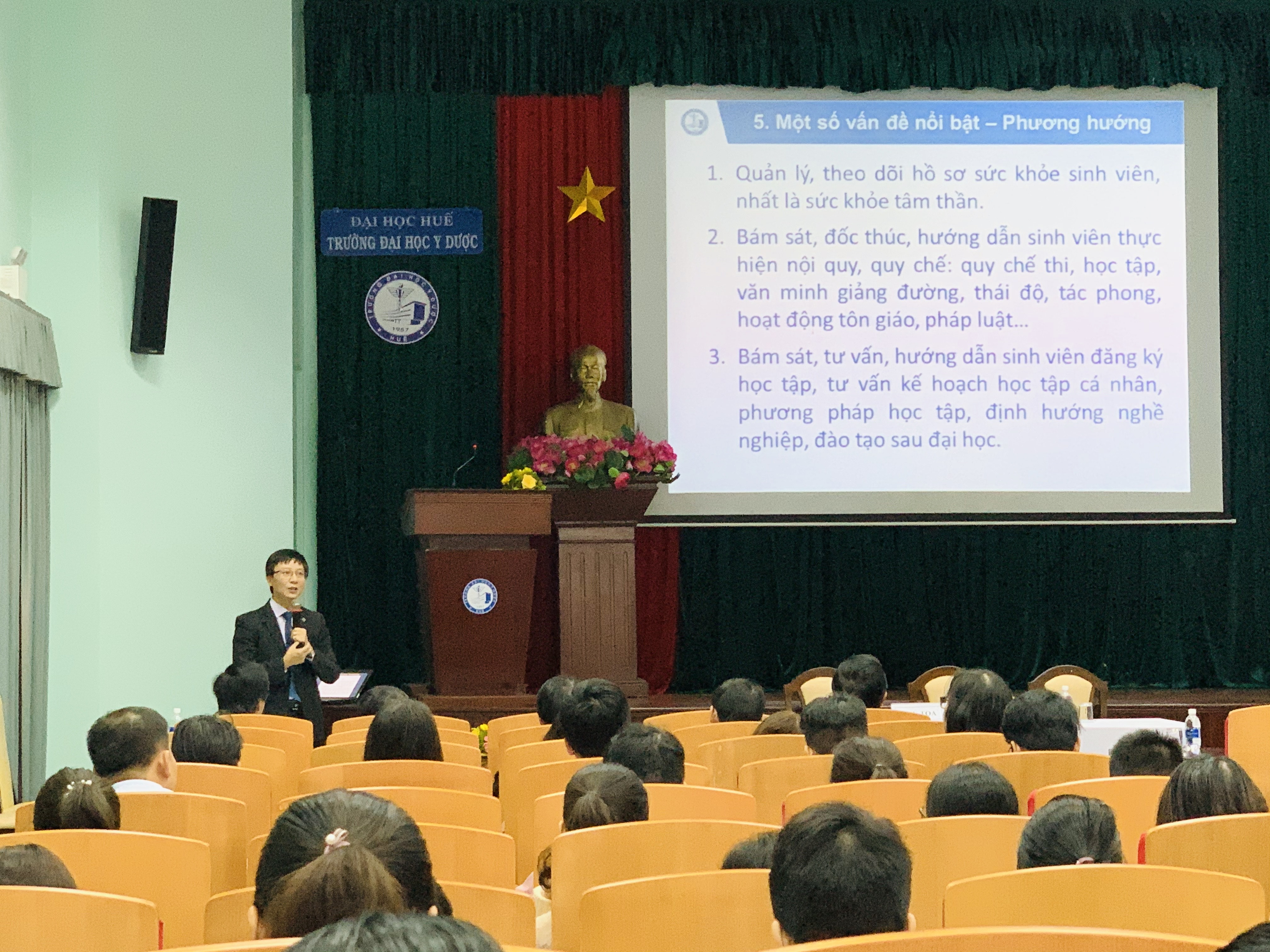 Hội nghị Giáo viên chủ nhiệm – Cố vấn học tập các lớp sinh viên