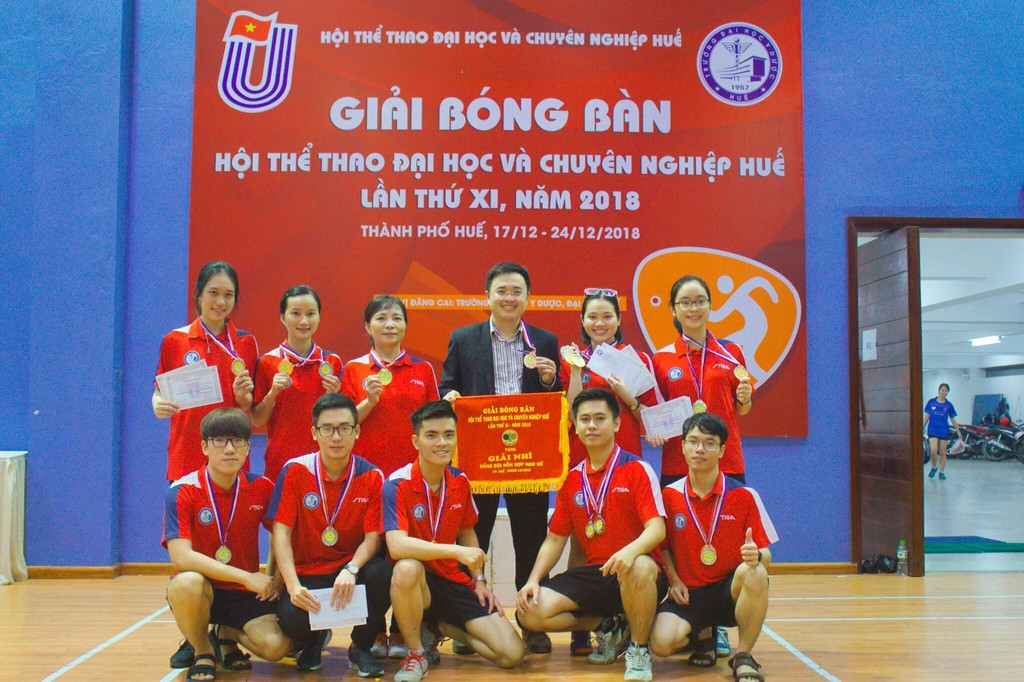 Giải bóng bàn Hội thể thao đại học và chuyên nghiệp Huế lần thứ XI năm 2018