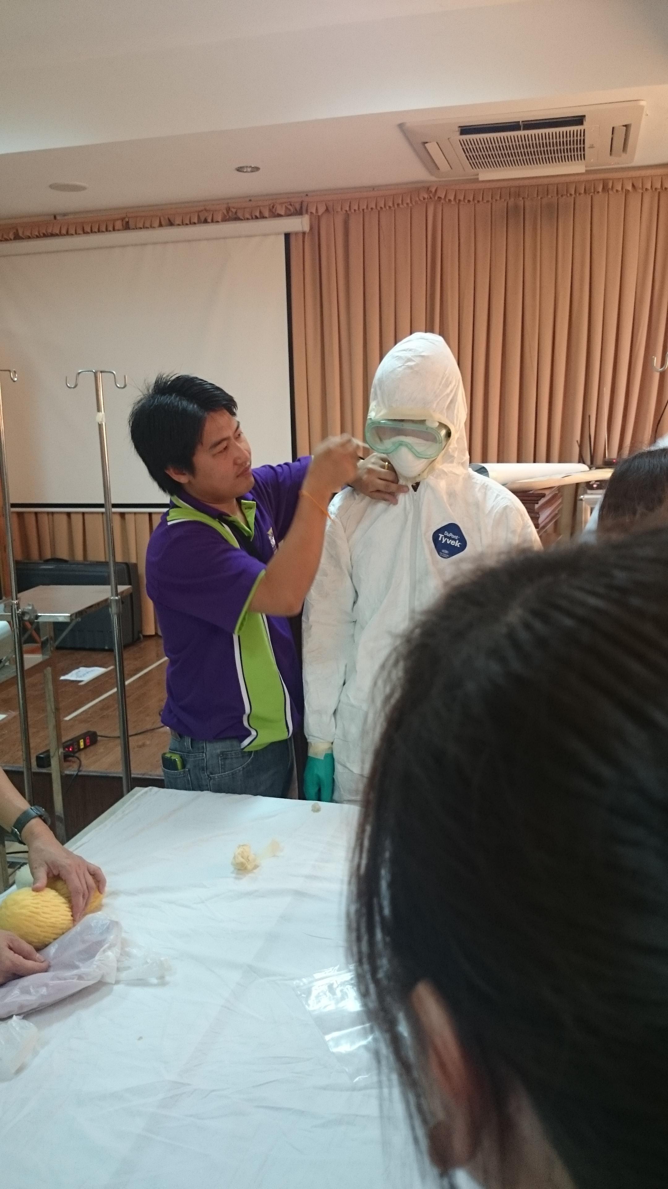 Đoàn Thái Lan đến Huế huấn luyện cấp cứu cho các bác sĩ, điều dưỡng