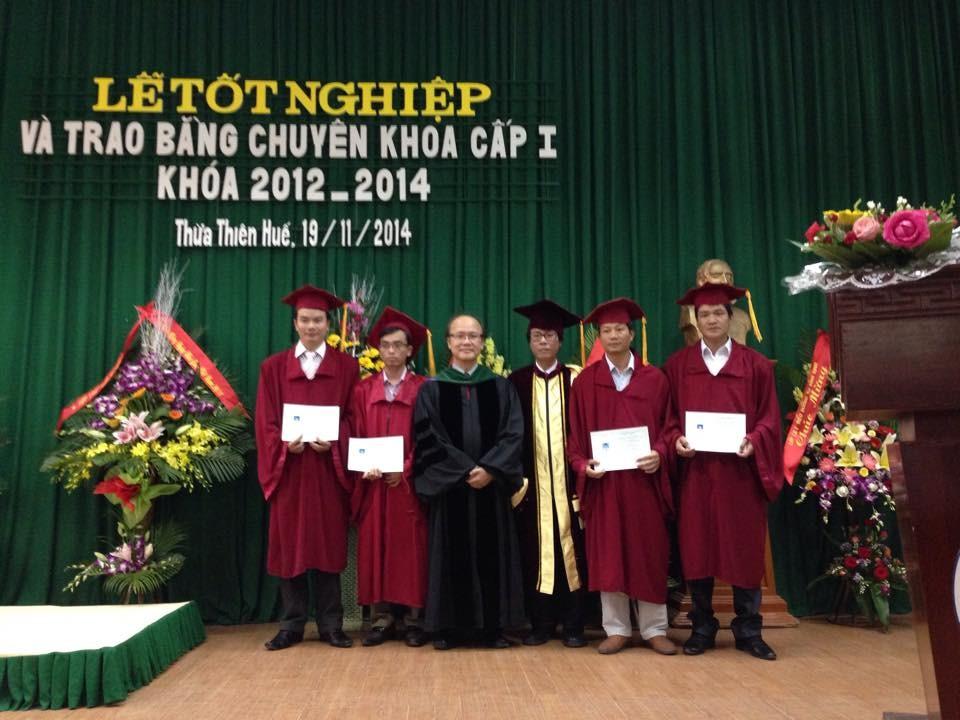 Lễ tốt nghiệp khóa 1 chuyên ngành Cấp cứu đa khoa Khóa đầu tiên trên đất nước Việt Nam