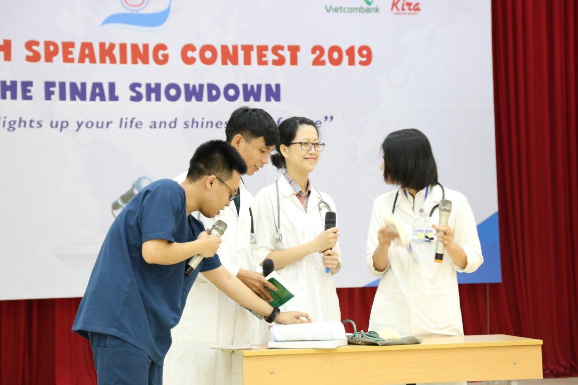 Trường Đại học Y Dược Huế đạt giải Nhì chung kết cuộc thi hùng biện tiếng Anh - English Speaking Contest 2019