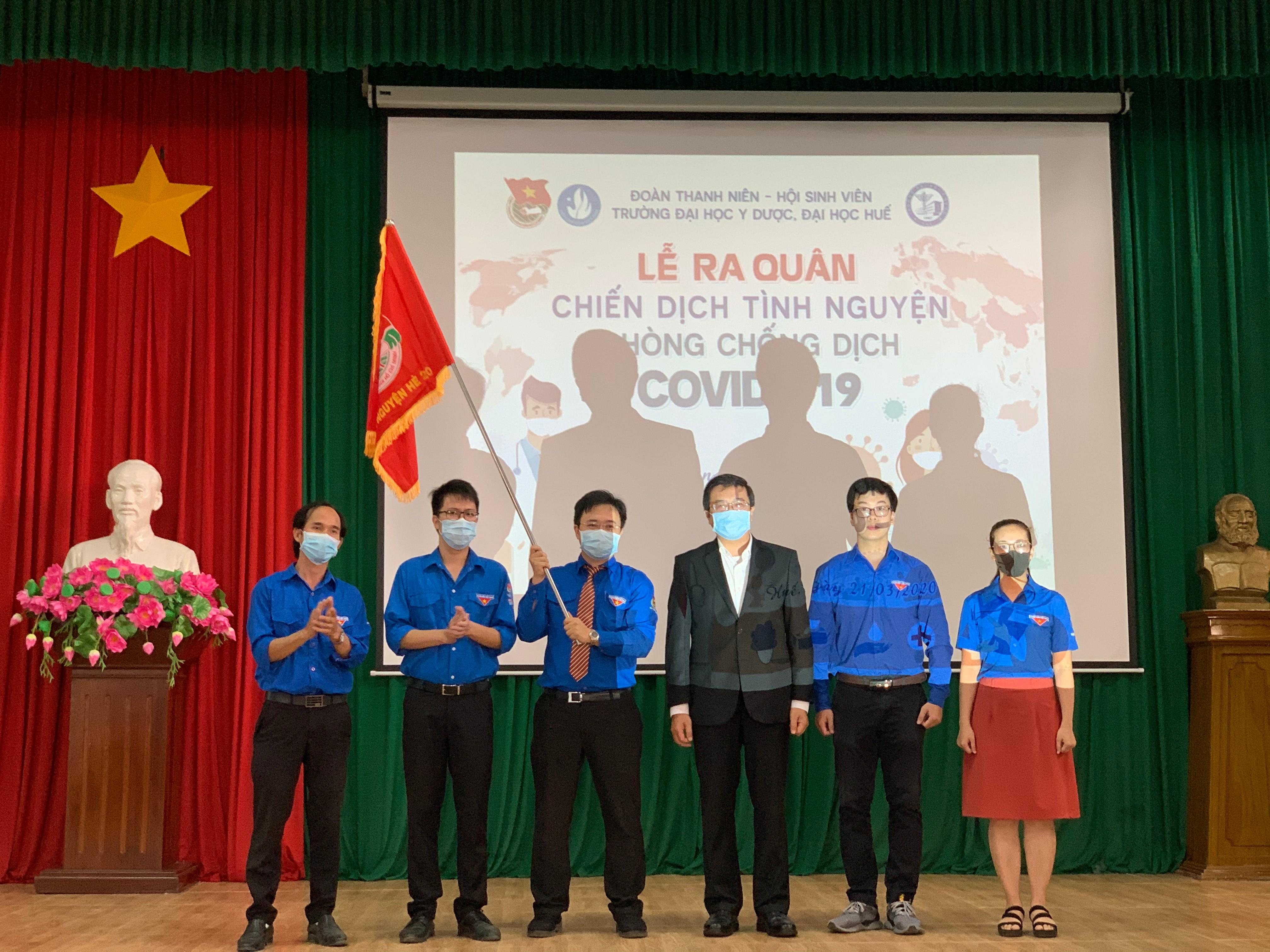 Gần 200 sinh viên Y tham gia chiến dịch tình nguyện phòng chống dịch Covid-19