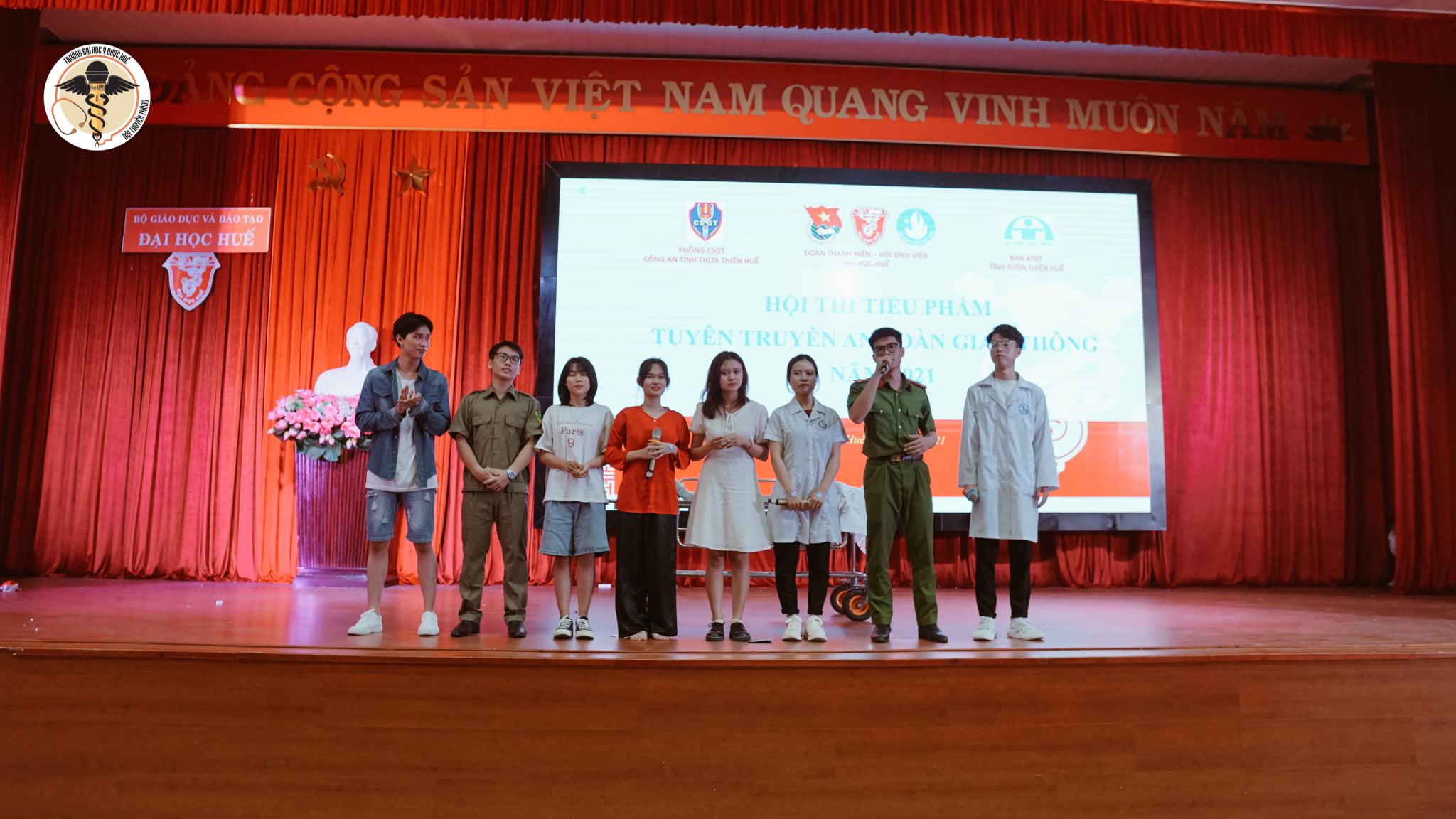 Hội Sinh viên Trường Đại học Y – Dược đạt giải Nhì tại cuộc thi tiểu phẩm tuyên truyền an toàn giao thông năm 2021
