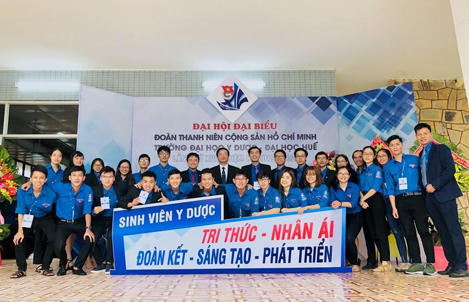 Đại hội đại biểu Đoàn Thanh niên cộng sản Hồ Chí Minh Trường Đại học Y Dược Huế lần thứ XIV nhiệm kỳ 2019-2022