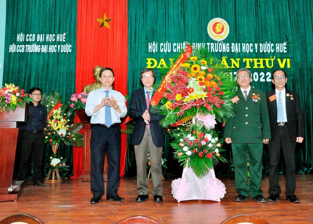 Đại hội Hội Cựu chiến binh Trường Đại học Y Dược Huế lần thứ VI nhiệm kỳ 2017-2022