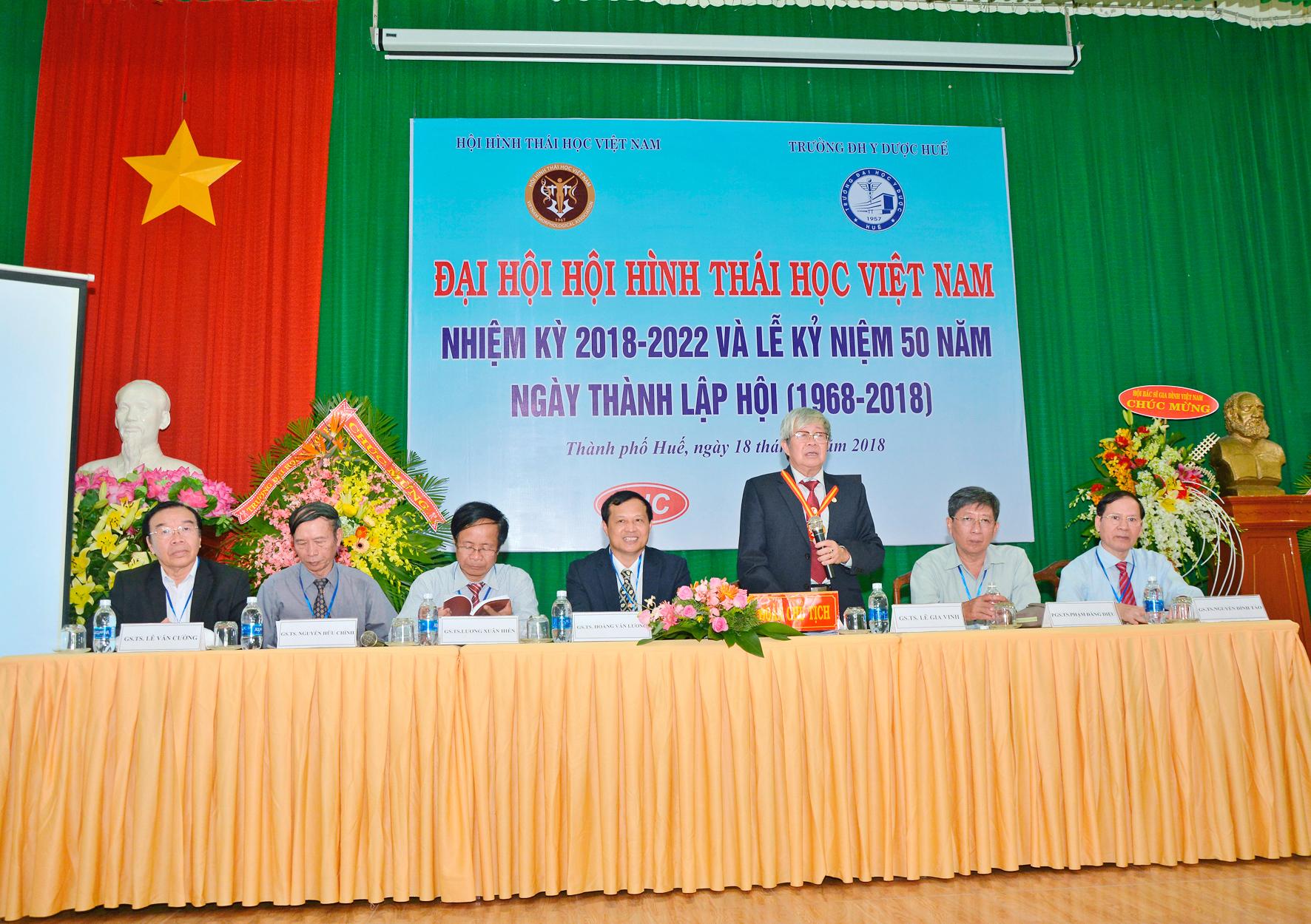 Đại hội Hội hình thái học Việt Nam nhiệm kỳ 2018-2022 và Hội nghị Khoa học toàn quốc lần thứ XVI