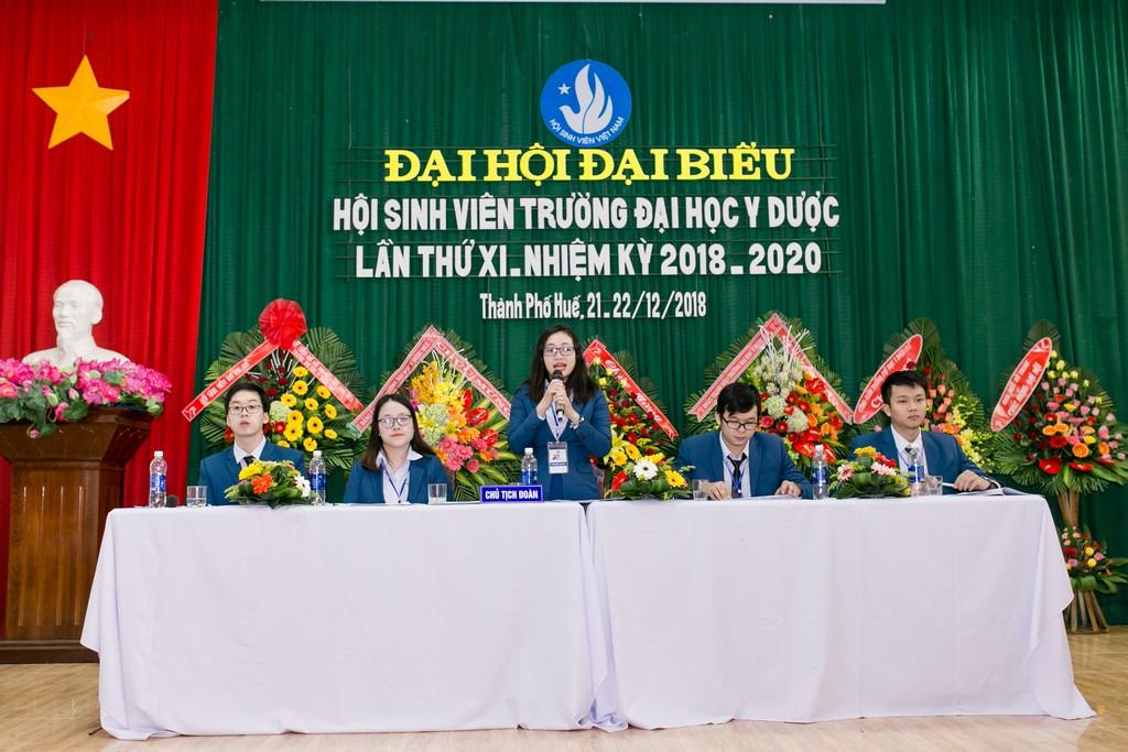 Đại hội đại biểu Hội sinh viên Trường Đại học Y Dược Huế lần thứ XI nhiệm kỳ 2018 - 2010
