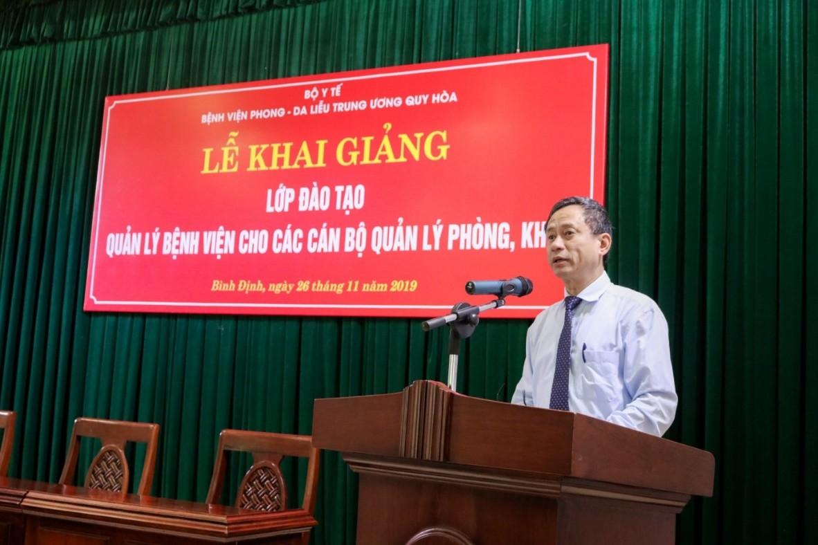 Đào tạo quản lý bệnh viện tại bệnh viện Phong – Da liễu Trung ương