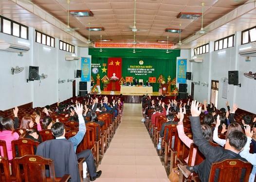 Đại hội Đại biểu Công đoàn cơ sở Trường Đại học Y Dược - Đại học Huế  Lần thứ XI, nhiệm kỳ 2017-2022