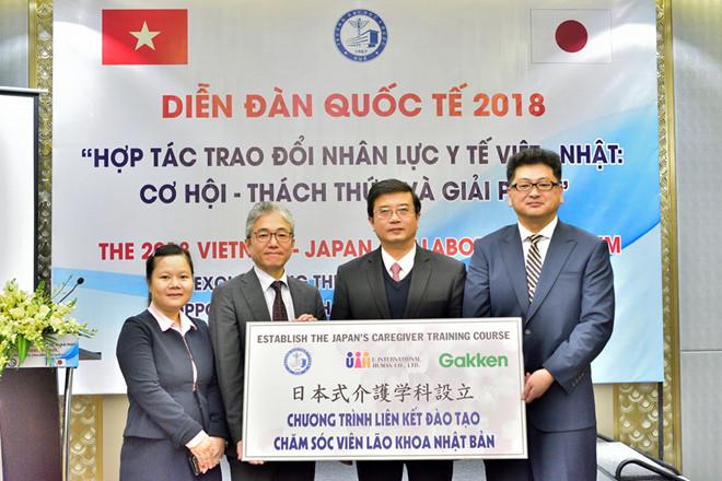 """Diễn đàn hợp tác trao đổi nhân lực y tế Việt - Nhật: """"Cơ hội - Thách thức và Giải pháp"""""""