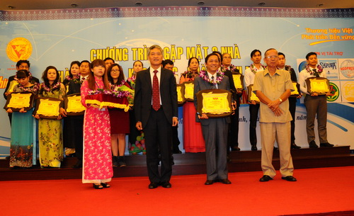 Trường Đại học Y Dược Huế dự lễ vinh danh doanh nhân ưu tú, nhân ái năm 2014.