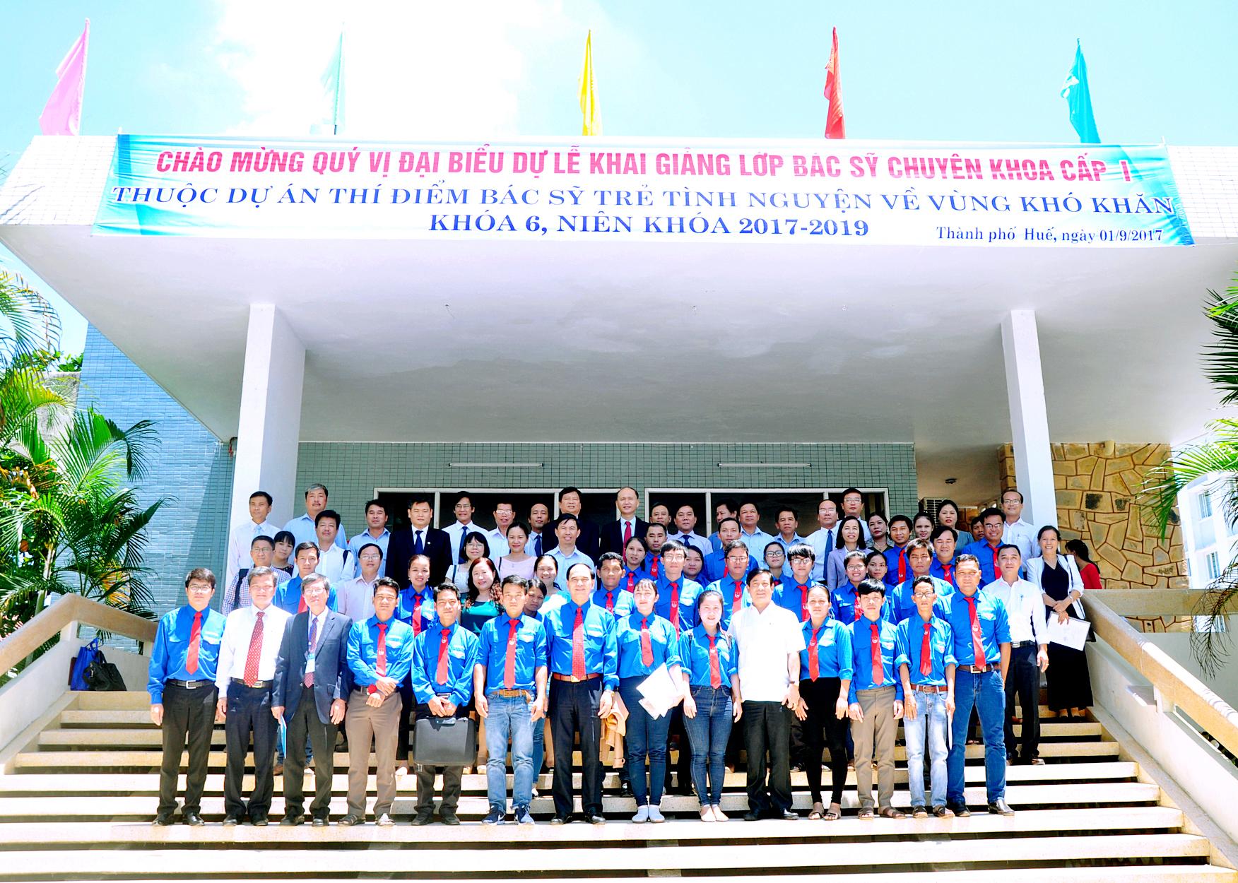 Khai giảng khóa bác sĩ chuyên khoa cấp I cho 29 bác sĩ trẻ tình nguyện công tác tại vùng khó khăn