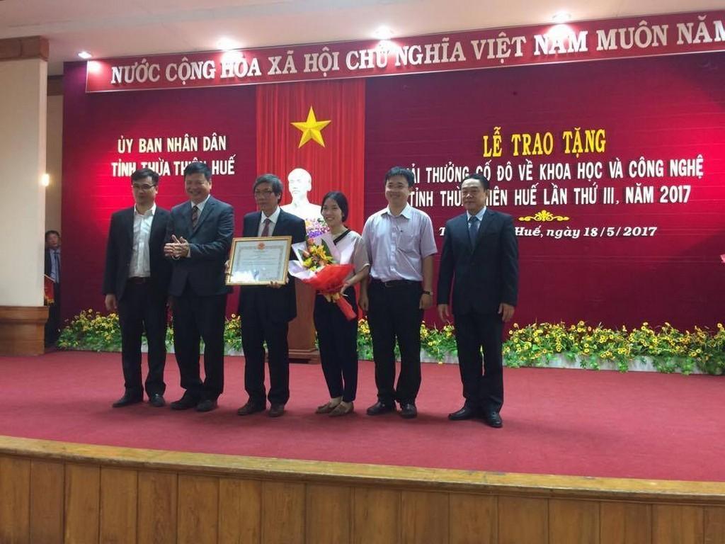 Giải thưởng Cố đô về Khoa học Công nghệ lần III năm 2017