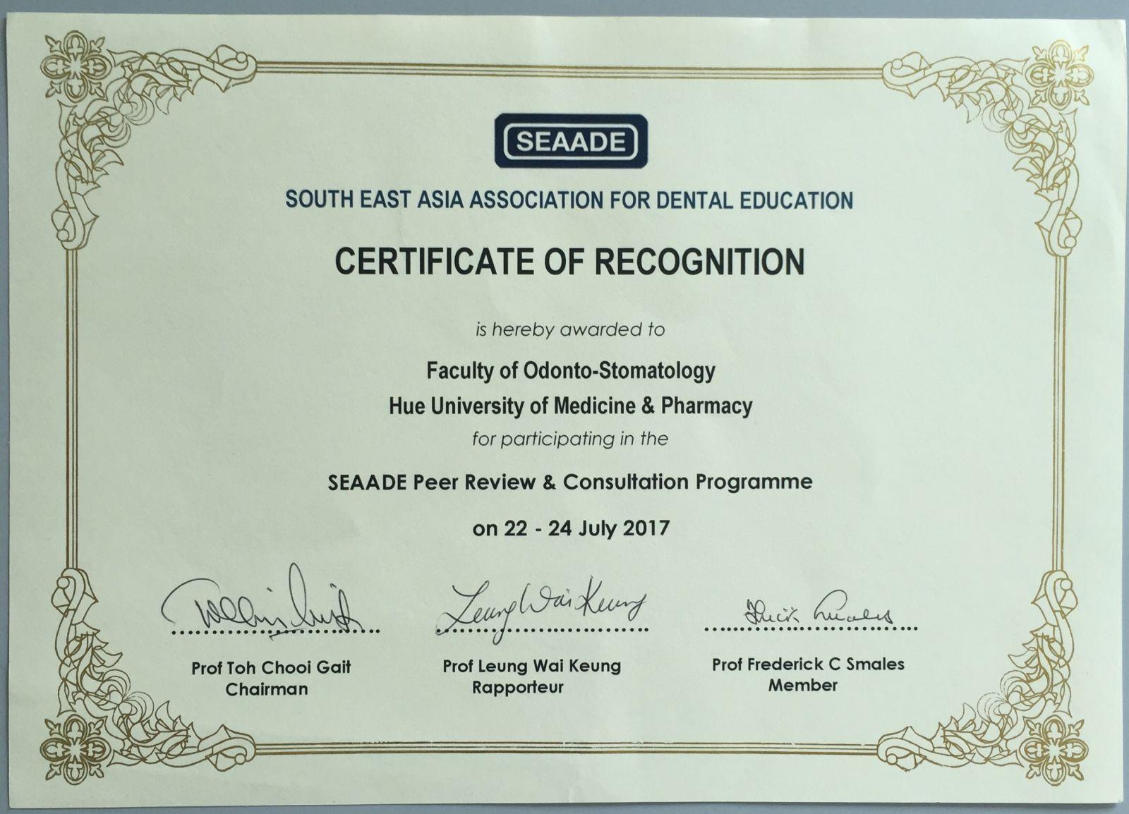 Hướng đến đào tạo bác sĩ Răng Hàm Mặt đạt chuẩn khu vực Đông Nam Á
