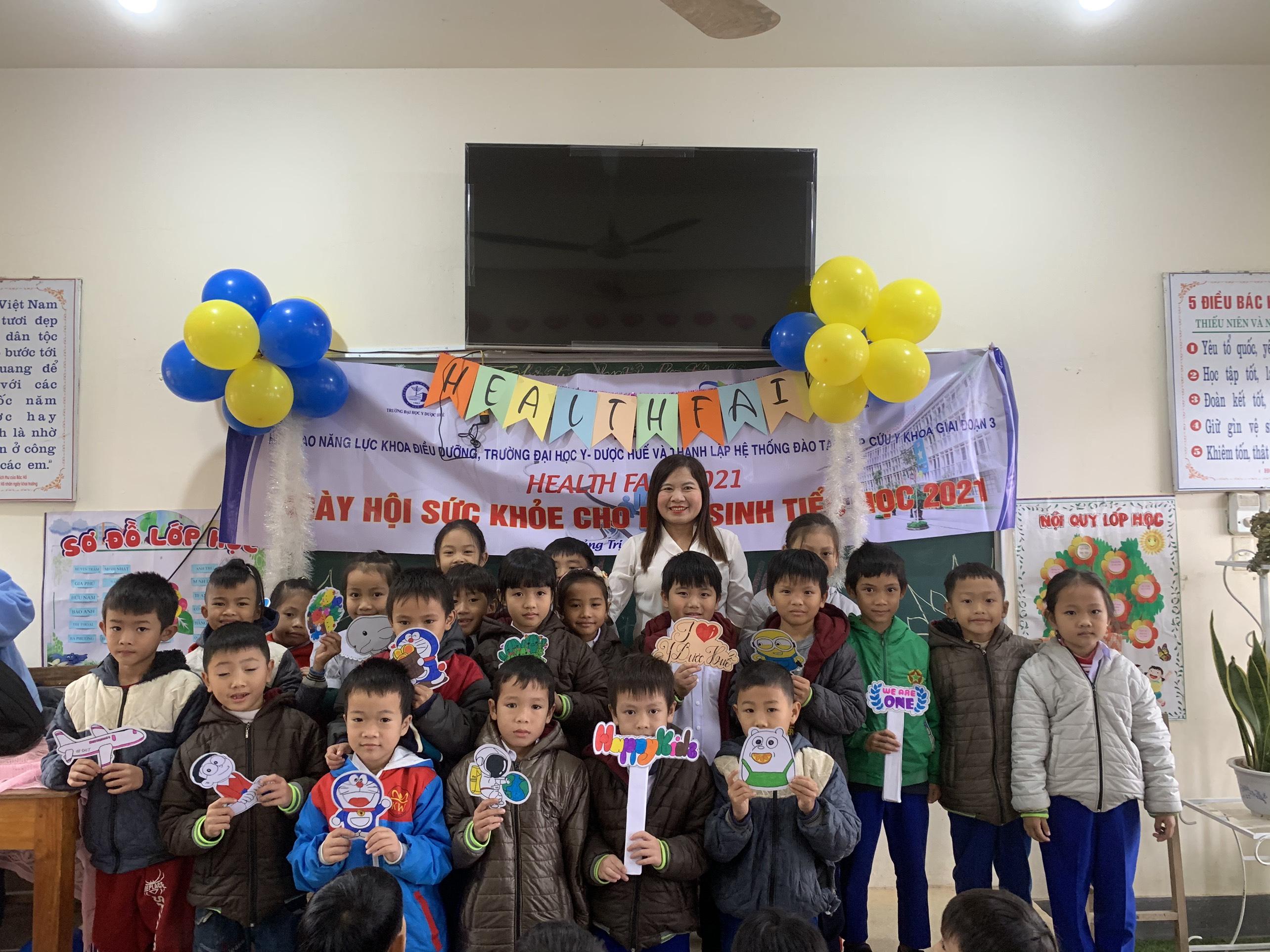 Ngày hội sức khỏe 2021 dành cho học sinh tiểu học