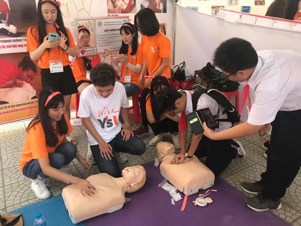 Ngày hội sức khỏe dành cho học sinh THCS