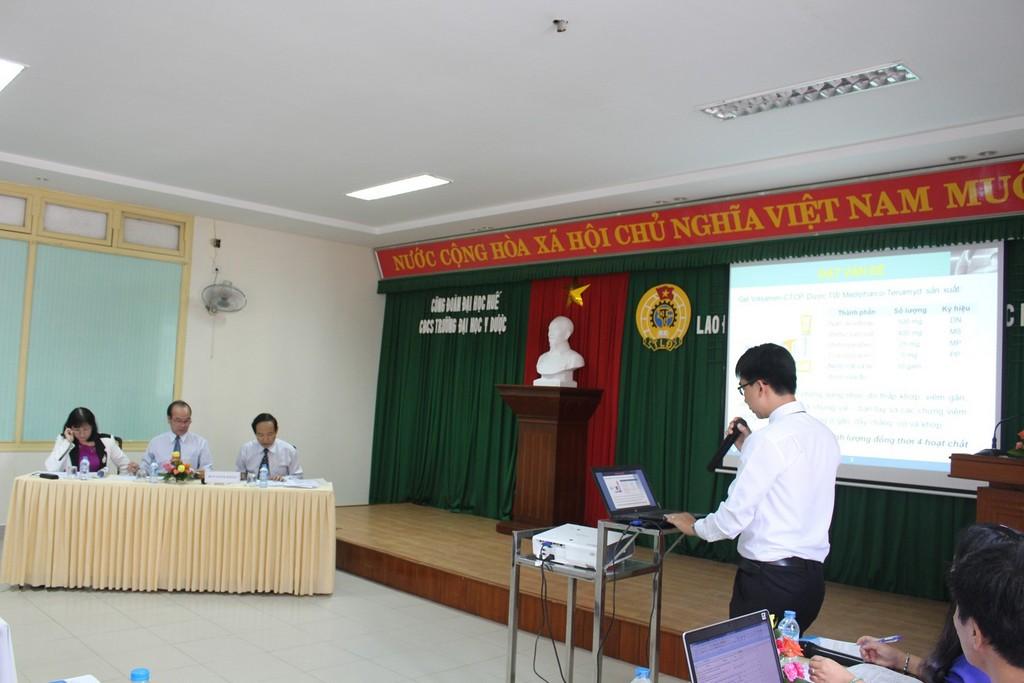 Công đoàn cơ sở Trường Đại học Y Dược – Đại học Huế tổ chức Hội nghị lao động sáng tạo lần thứ VII