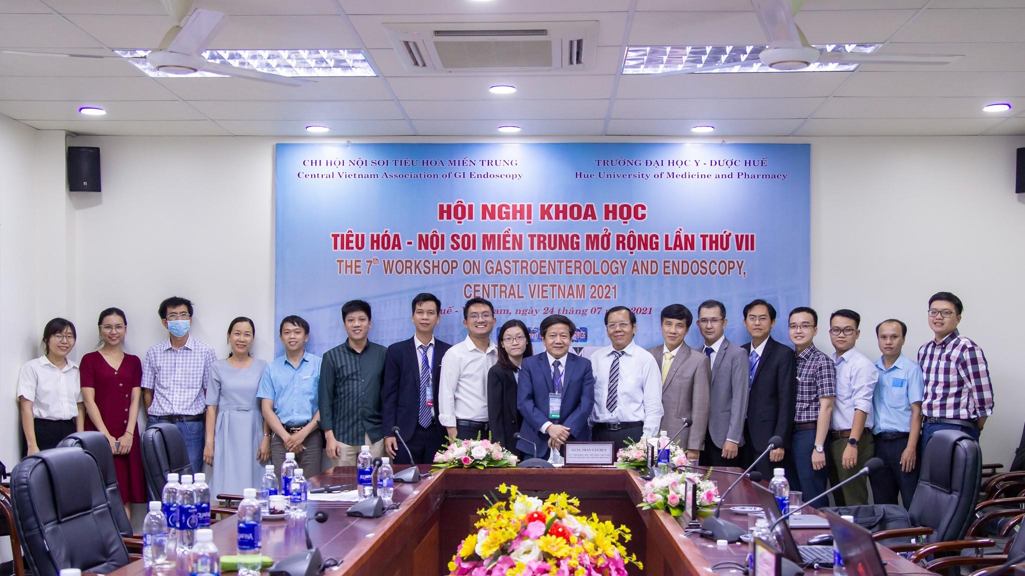 Hội nghị Tiêu hóa – Nội soi miền Trung lần thứ VII năm 2021