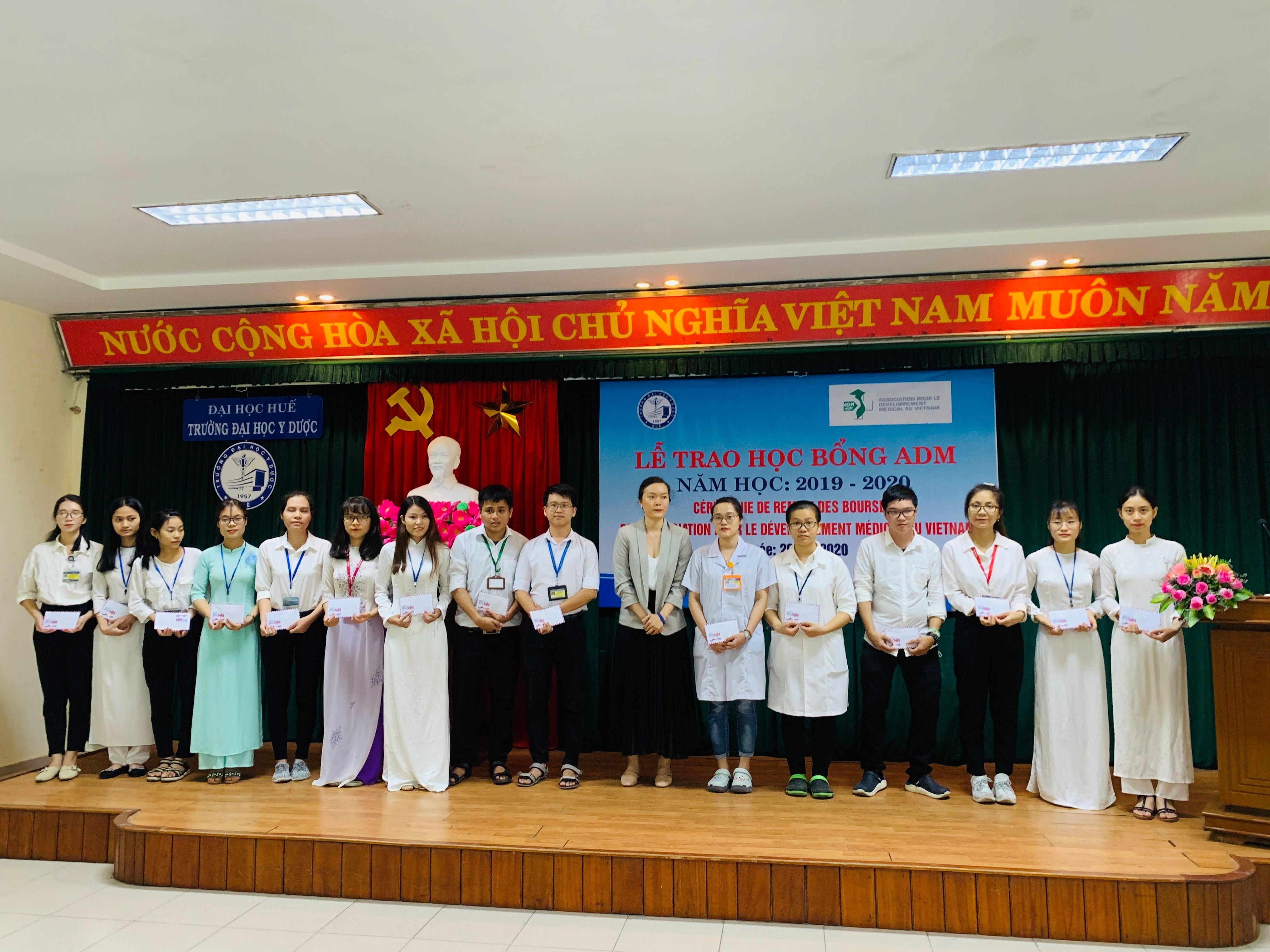 45 sinh viên được nhận học bổng ADM năm học 2019-2020