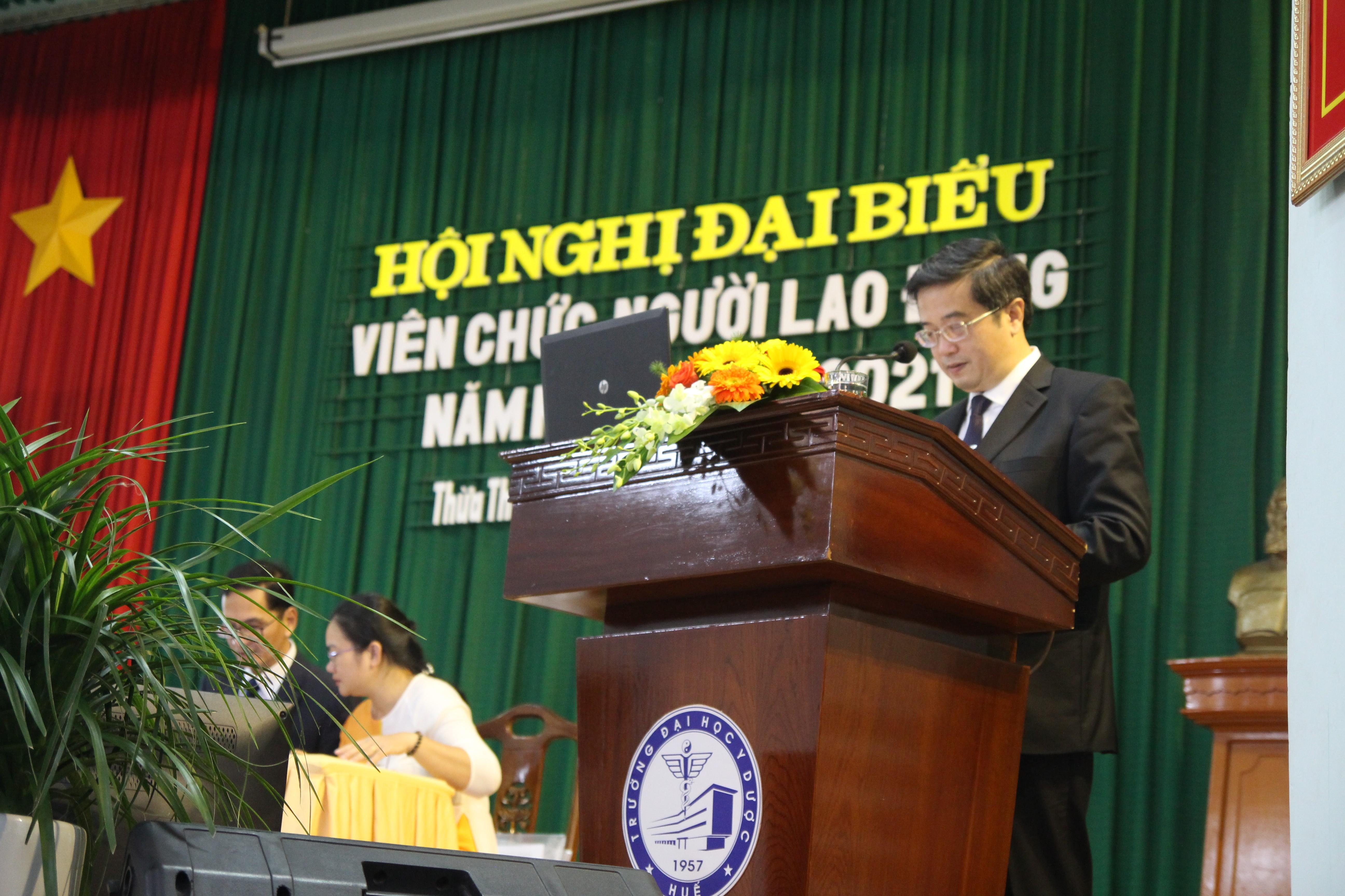 Hội nghị viên chức người lao động năm học 2020-2021