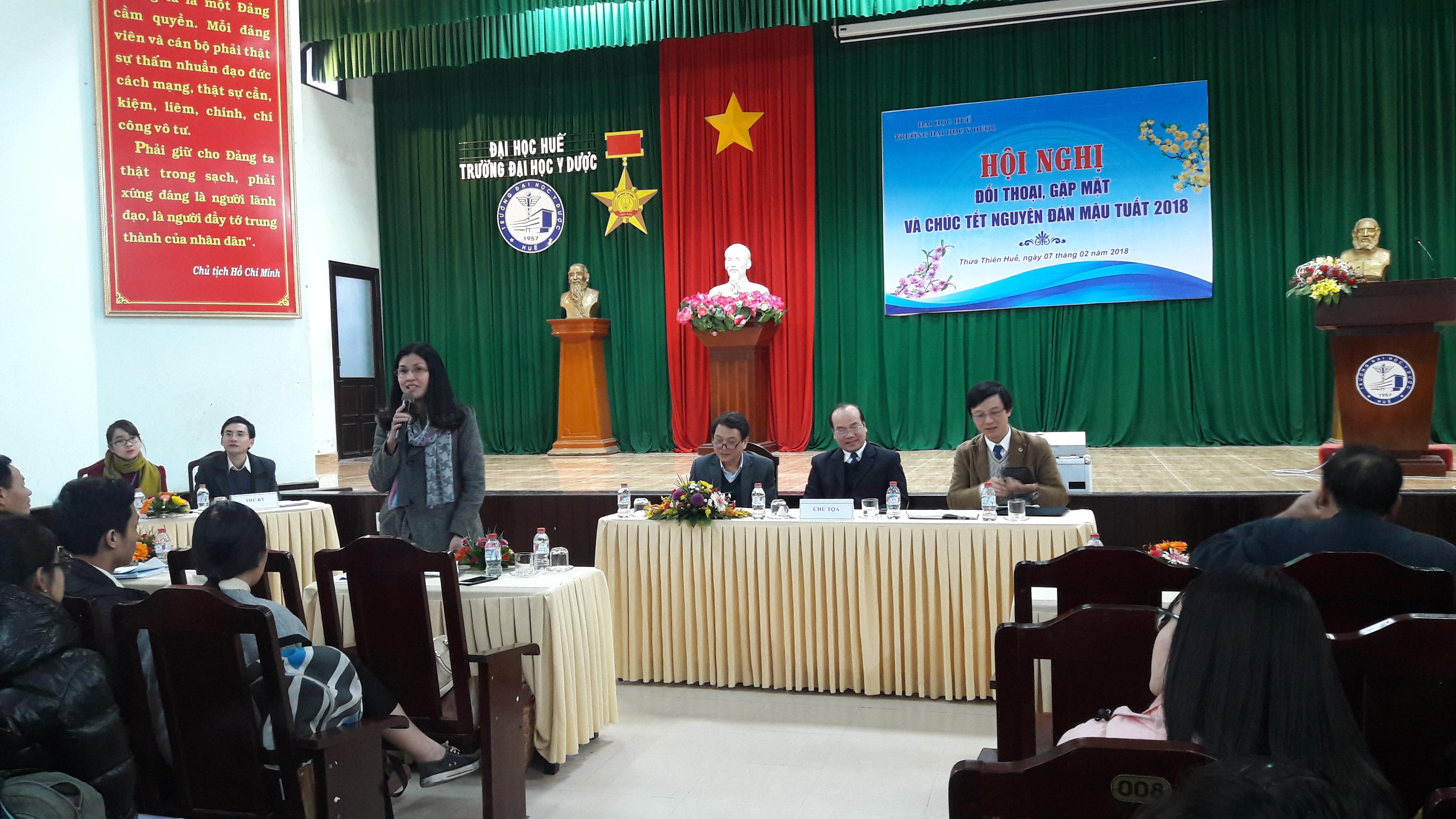 Hội nghị đối thoại, gặp mặt và chúc Tết Nguyên đán Mậu Tuất 2018