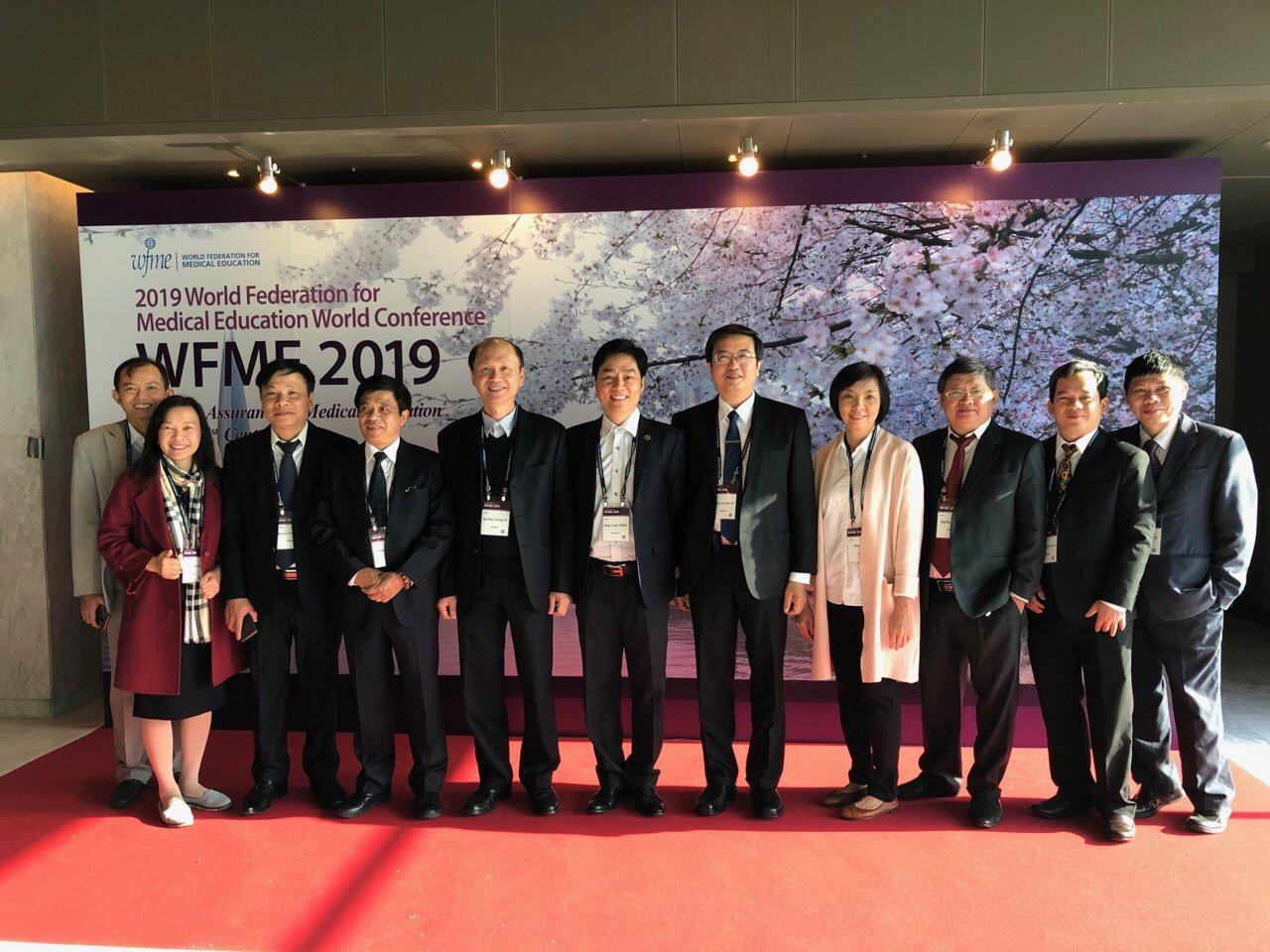 Trường Đại học Y Dược Huế tham dự hội nghị Liên đoàn đào tạo Y khoa thế giới 2019 tại Seoul, Hàn Quốc