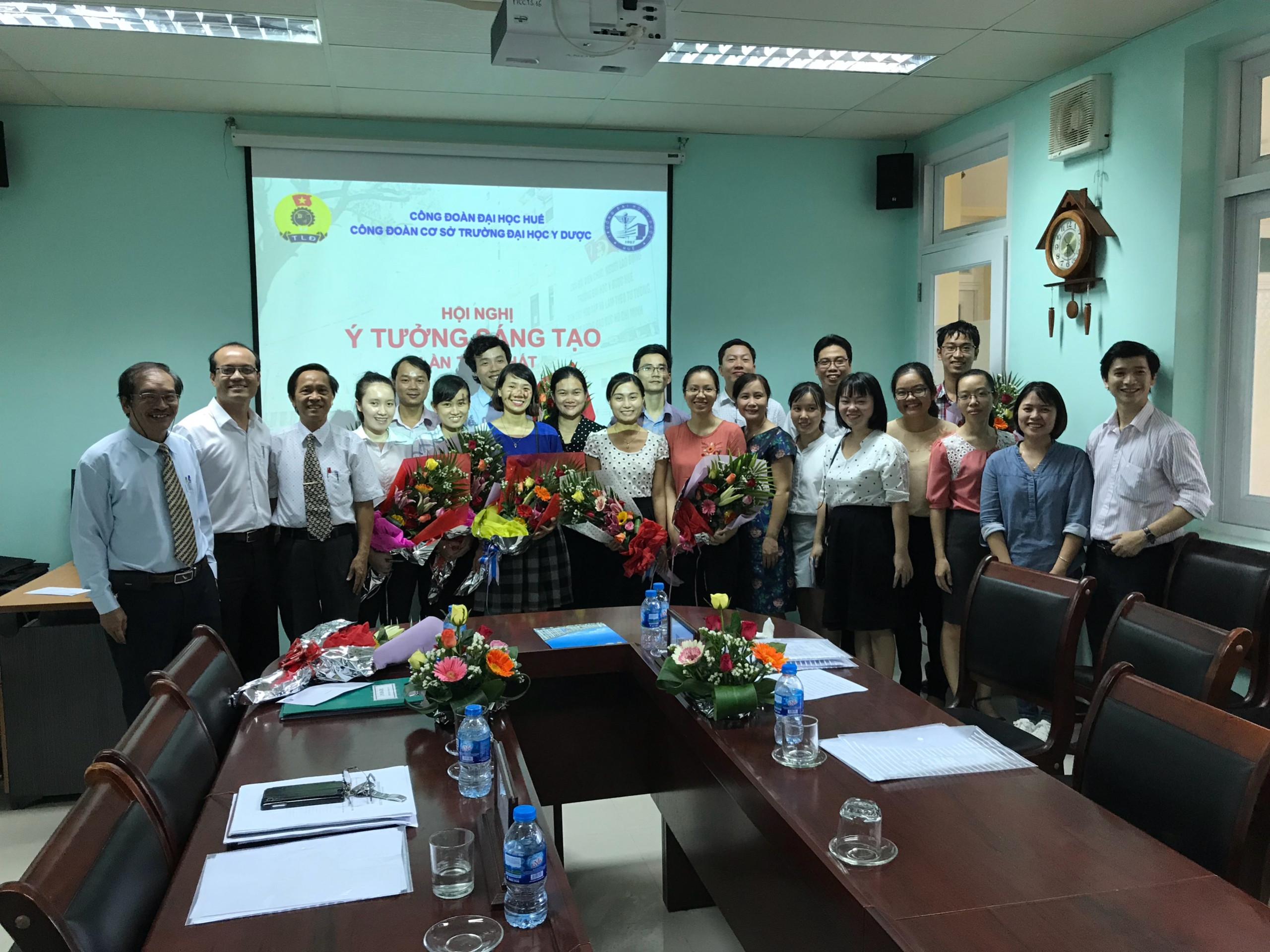 Công đoàn cơ sở Trường ĐH Y Dược Huế tổ chức Hội nghị ý tưởng sáng tạo lần thứ nhất
