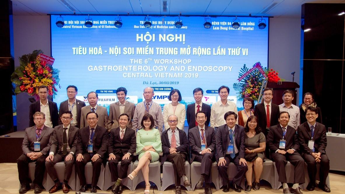 Hội nghị tiêu hóa - Nội soi miền Trung lần thứ VI