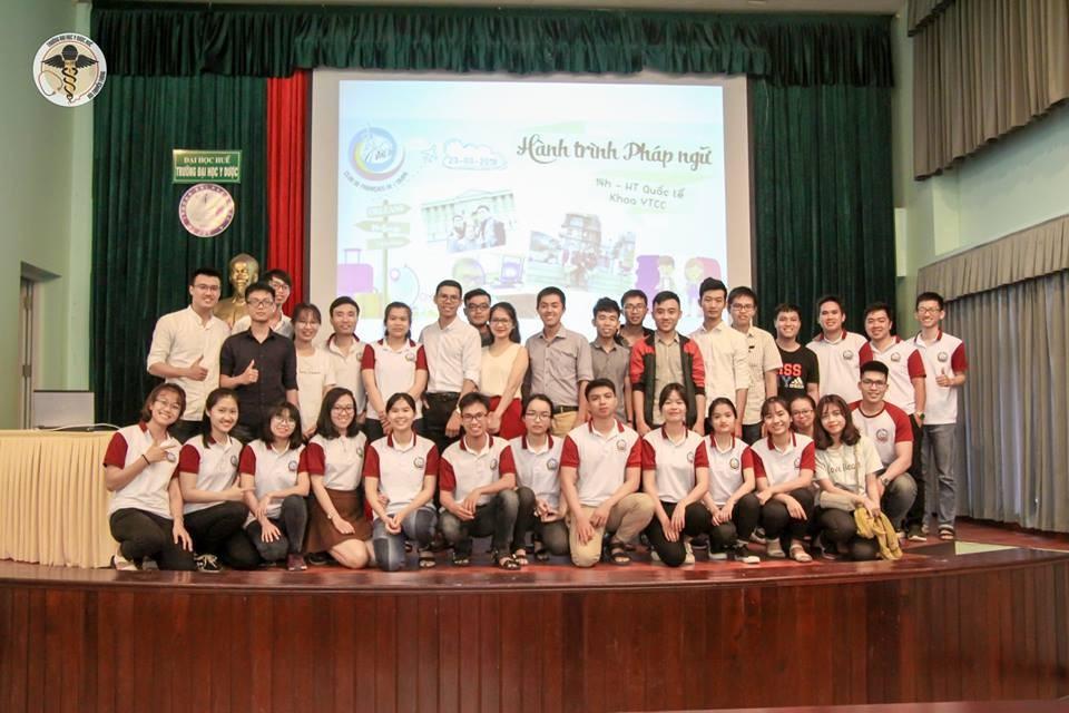 """Chuỗi hội thảo """"Hướng nghiệp, du học và giao lưu quốc tế"""" chào mừng ngày thành lập Đoàn TNCS."""