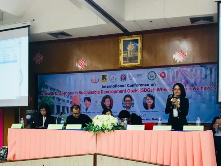 """Hội thảo quốc tế """"Những thách thức về y tế trong mục tiêu phát triển bền vững"""" tại Khon Kaen, Thái Lan"""