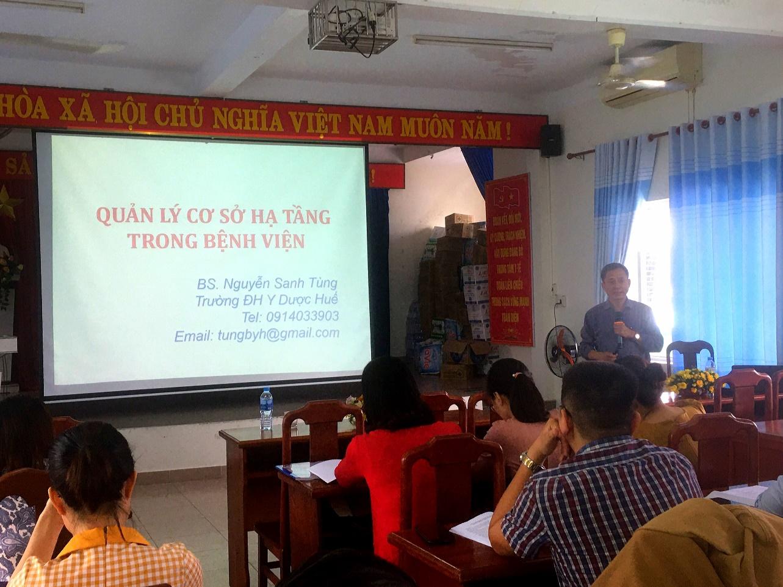 Đào tạo quản lý bệnh viện tại Trung tâm Y tế quận Liên Chiểu Đà Nẵng