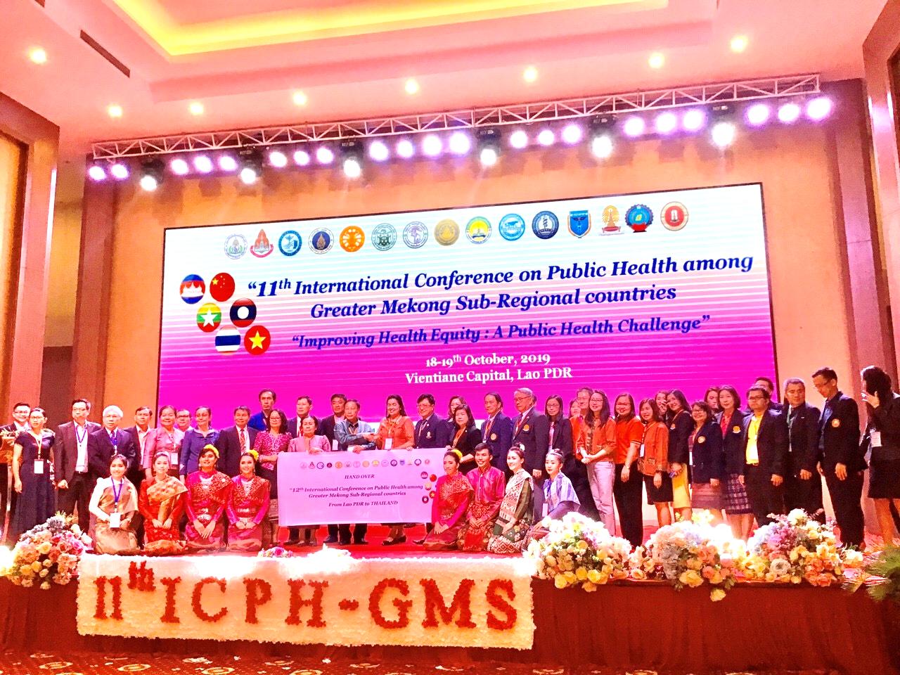 Trường Đại học Y Dược Huế tham dự Hội nghị quốc tế về Y tế công cộng các nước tiểu vùng sông Mekong mở rộng lần thứ 11 tại Lào