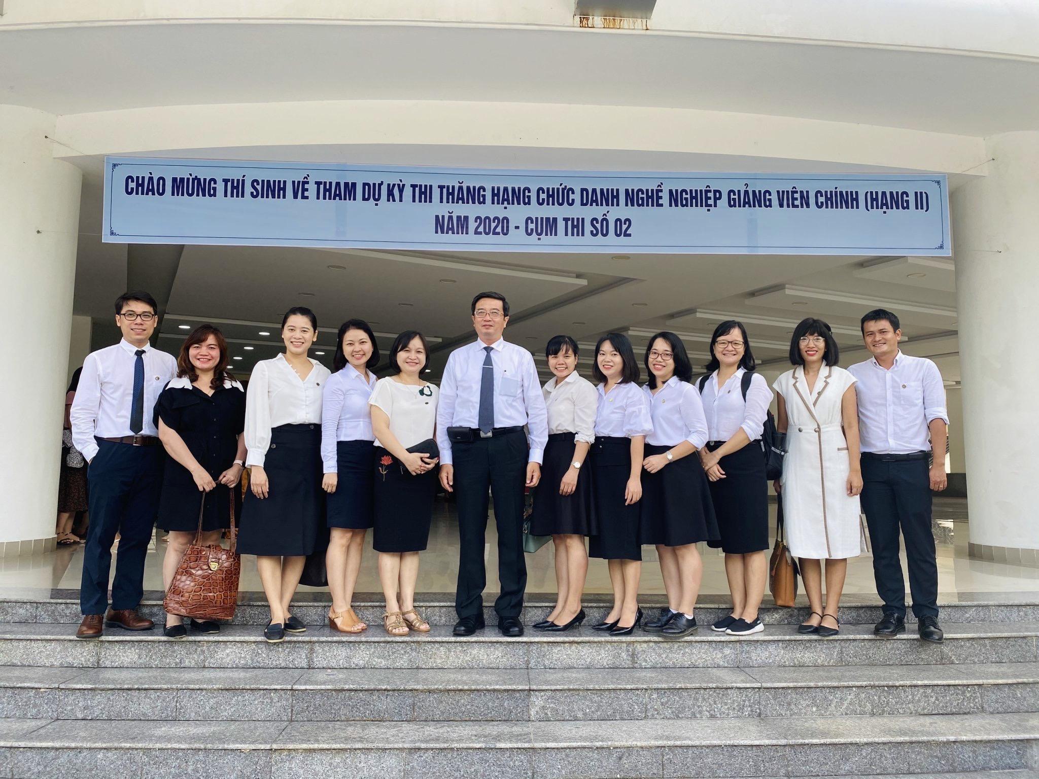 11 giảng viên Trường Đại học Y Dược dự thi thăng hạng chức danh nghề nghiệp giảng viên chính năm 2020