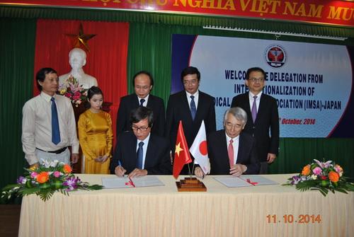 Chuyến công tác của đoàn lãnh đạo Hiệp Hội Y tế Quốc tế (IMSA) – Nhật Bản tại Trường ĐHYD Huế