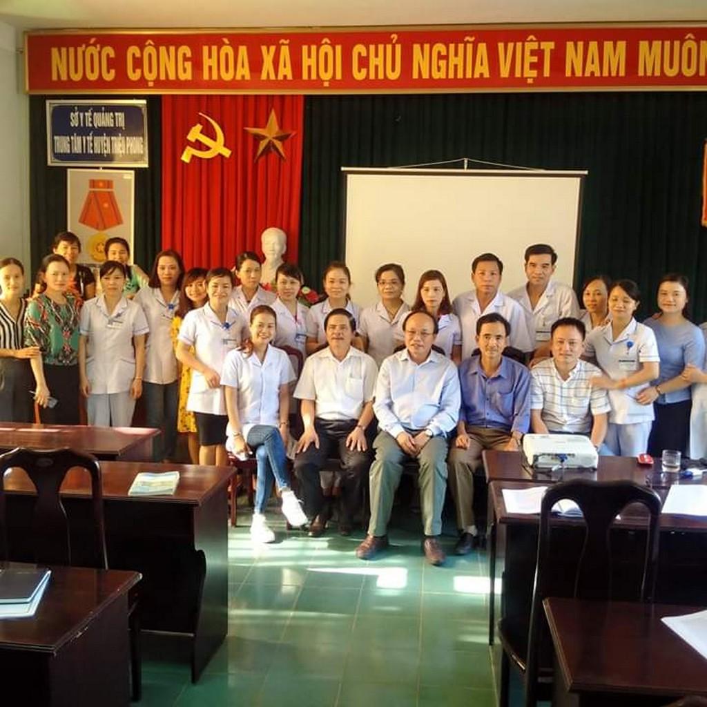 Tổ chức đào tạo quản lý chất lượng Bệnh viện tại TTYT Triệu Phong, Quảng Trị