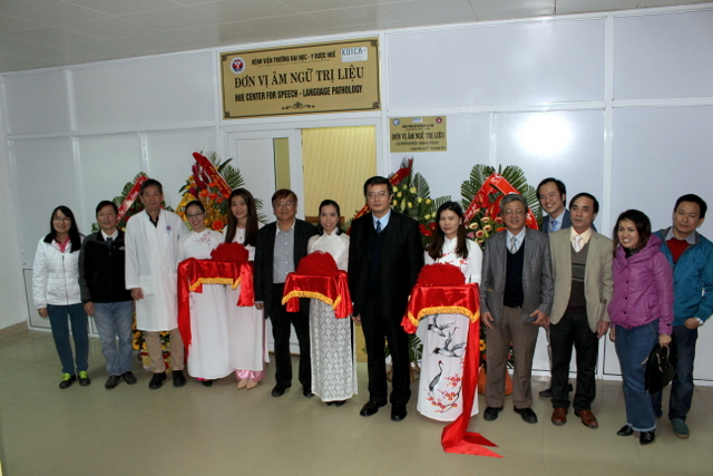 Khánh thành đơn vị âm ngữ trị liệu tại Bệnh viện Trường Đại học Y Dược Huế