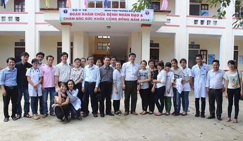Bệnh viện Trường Đại học Y Dược Huế tổ chức khám chữa bệnh và chăm sóc sức khoẻ cộng đồng tại Hà Tĩnh