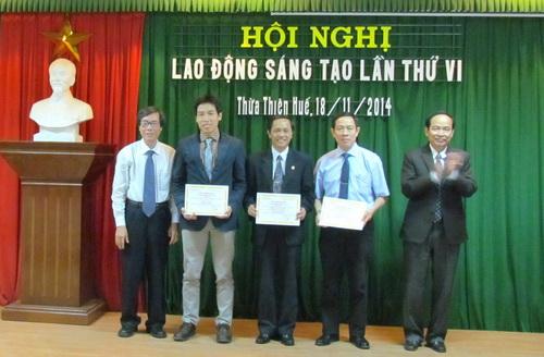 Công đoàn Trường ĐHYD Huế tổ chức Hội nghị Lao động Sáng tạo lần thứ VI - năm 2014