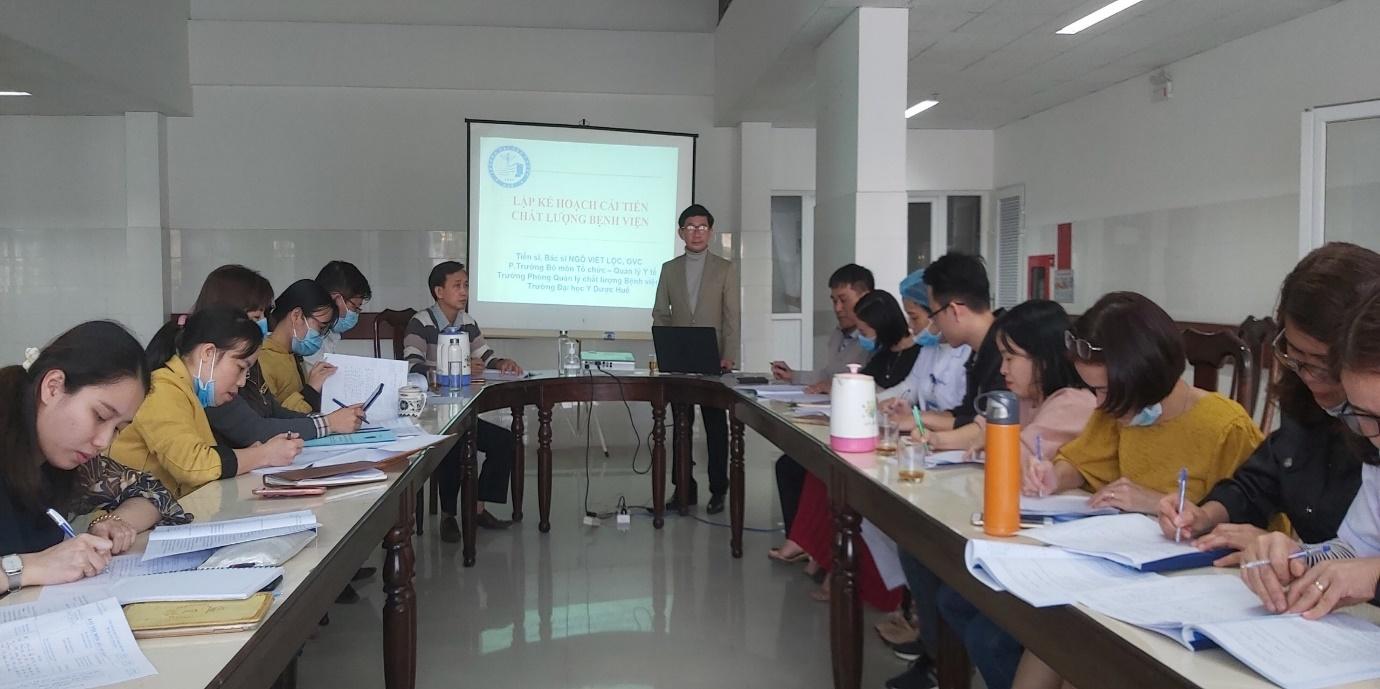 Tổ chức đào tạo quản lý chất lượng bệnh viện tại Bệnh viện Phụ sản - Nhi Quảng Nam