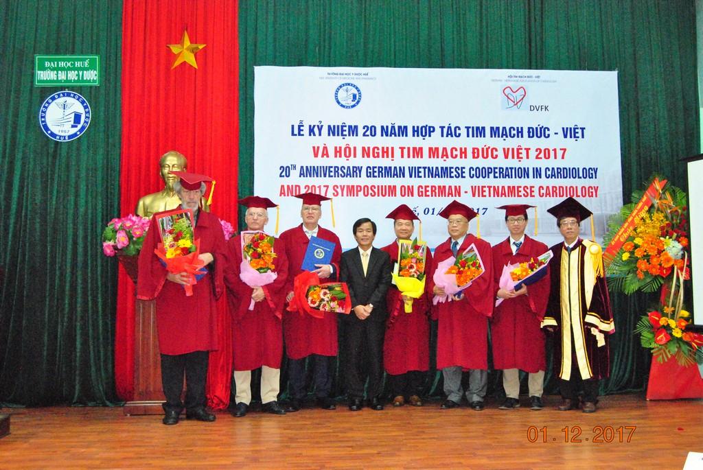 Kỷ niệm 20 năm quan hệ hợp tác tim mạch Đức – Việt và Hội nghị tim mạch Đức – Việt 2017
