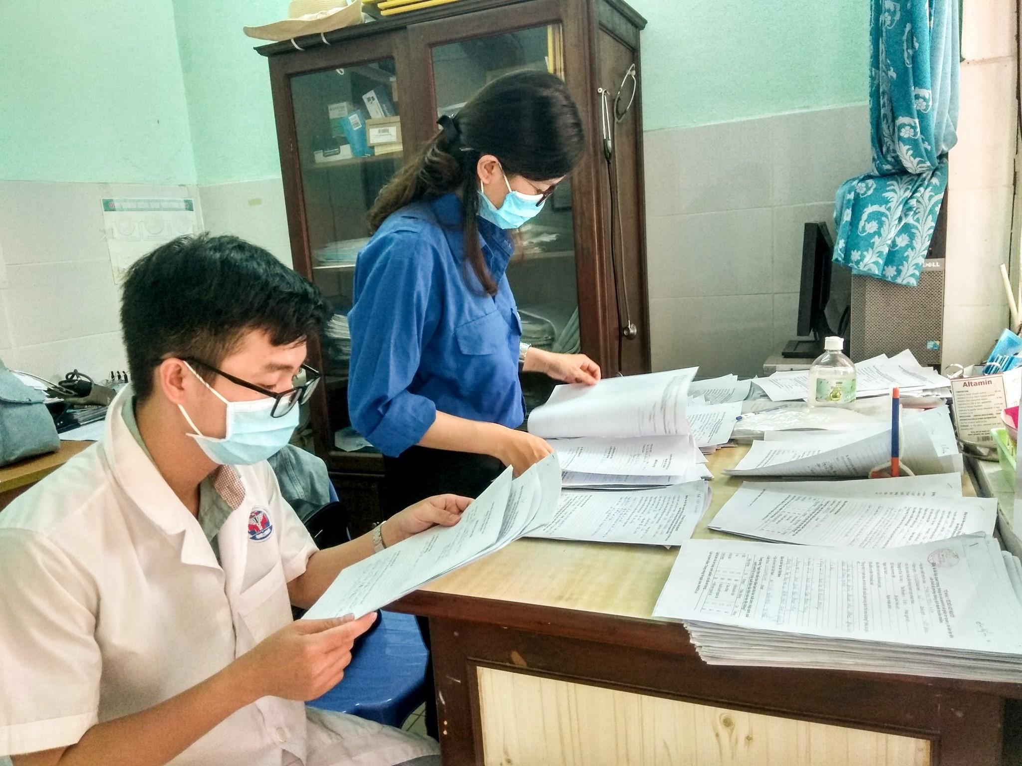 Sinh viên tình nguyện ra quân điều tra dịch tễ phòng chống Covid-19