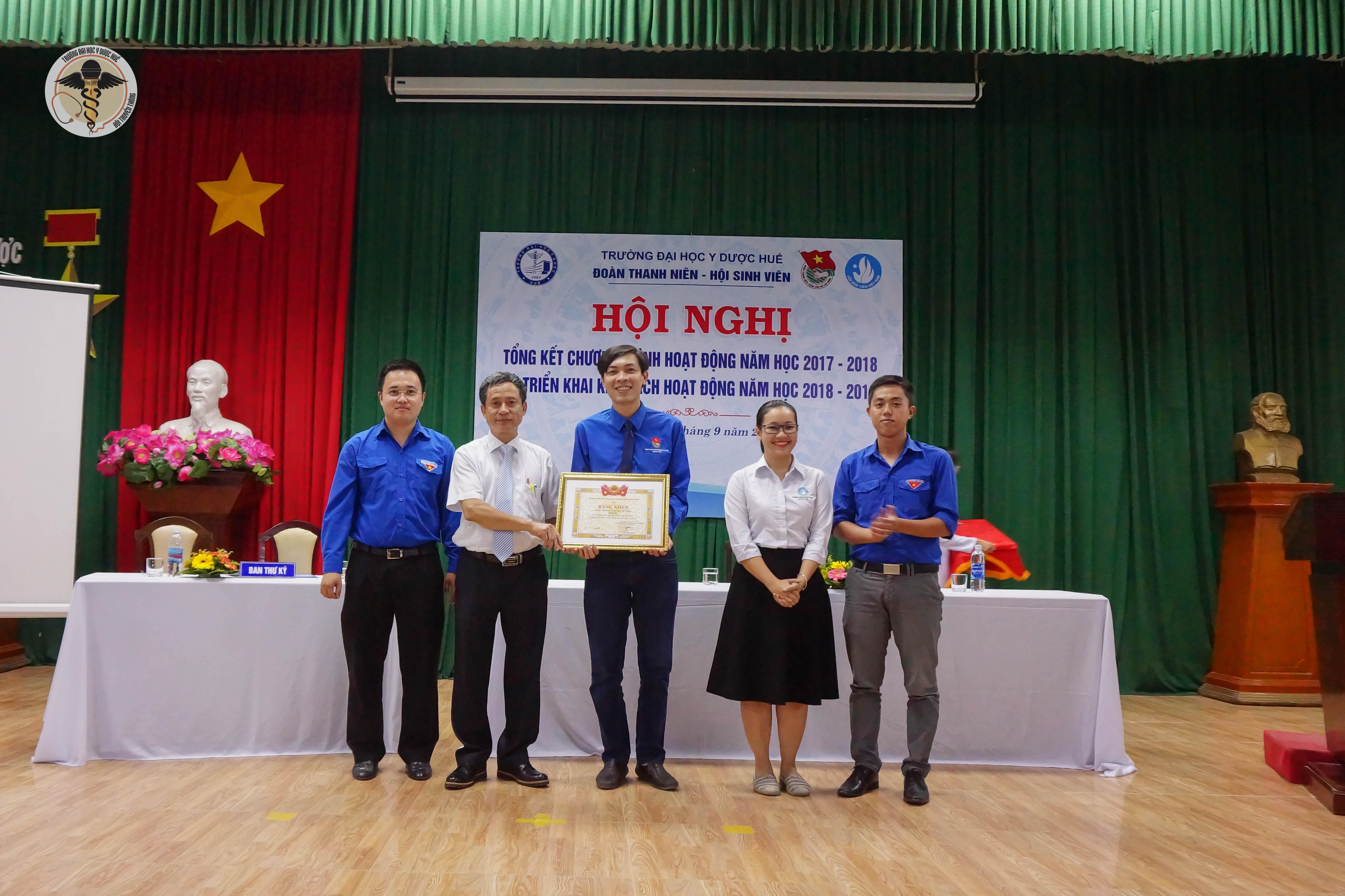 Hội nghị tổng kết công tác Đoàn Thanh niên – Hội sinh viên năm học 2017-2018