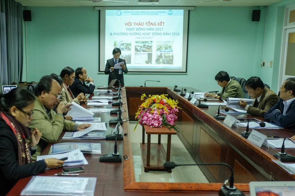 Hội thảo tổng kết hoạt động Viện NCSKCĐ năm 2017