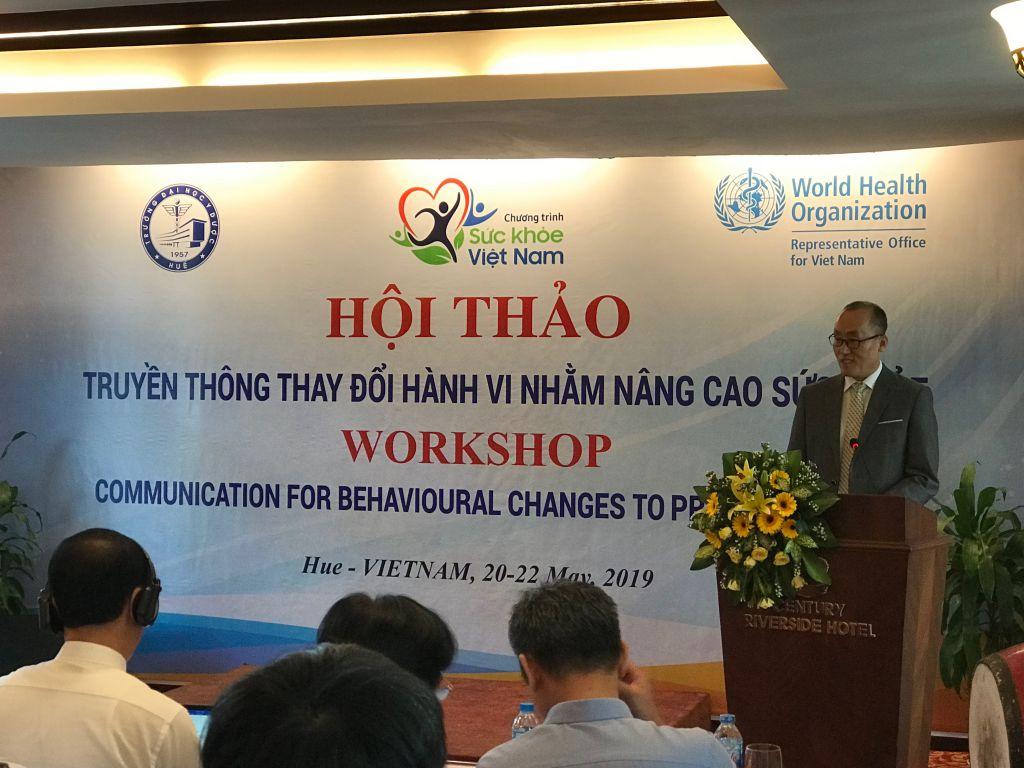 Hội thảo truyền thông thay đổi hành vi nhằm nâng cao sức khoẻ