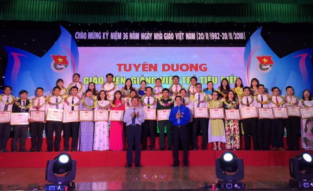 Tuyên dương giáo viên, giảng viên trẻ tiêu biểu năm 2018