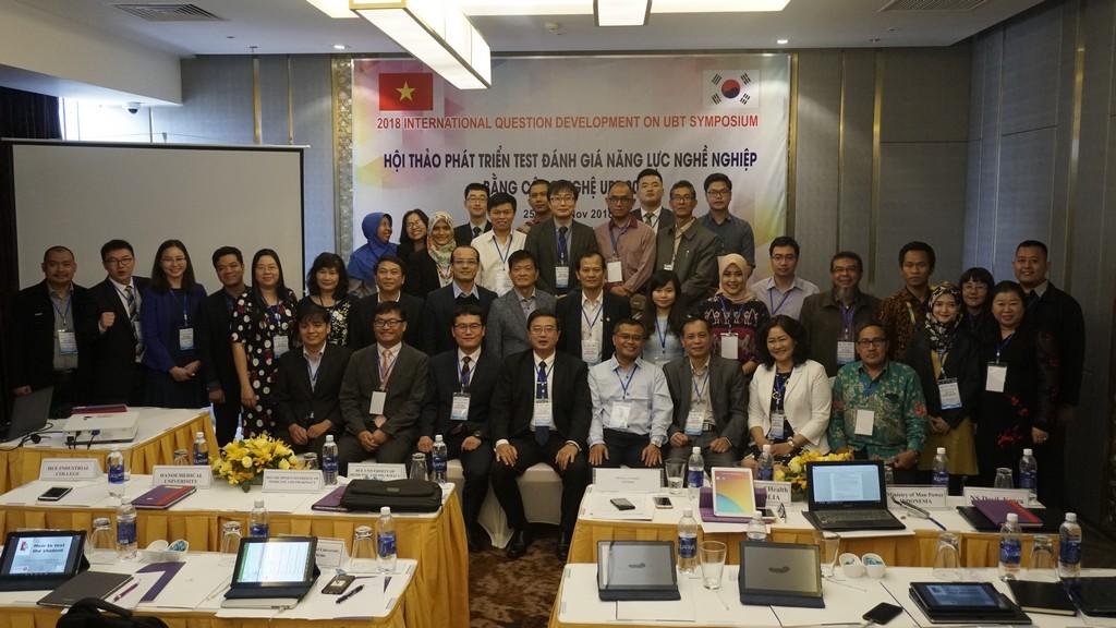 Hội thảo phát triển test đánh giá năng lực nghề nghiệp bằng công nghệ UBT